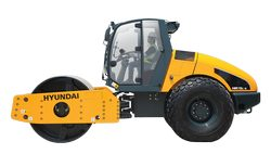 Hyundai HR120C compaction rollers parts