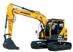 Hyundai HX235LCR Crawler Excavator parts