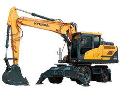 Hyundai HW180 Wheeled Excavator parts