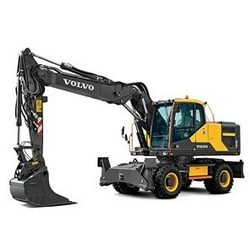 Volvo EW160E Wheeled Excavators