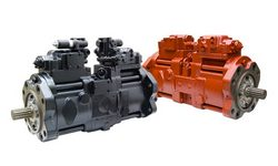original and aftermarket (replacement) Doosan Hydraulic Pumps