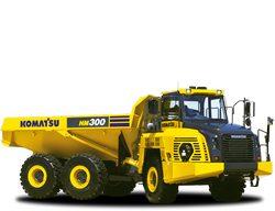 Komatsu HM300-5 Articulated Dump Truck parts