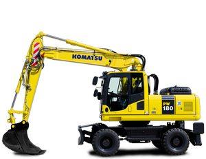 Komatsu PW160-8 Hydraulic Excavator parts
