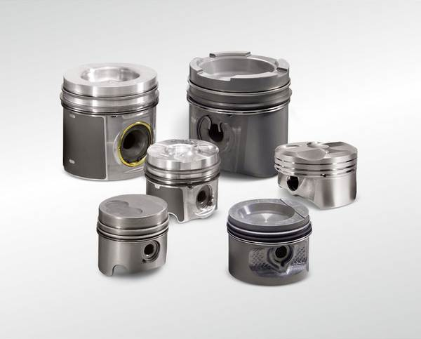 Volvo engine pistons